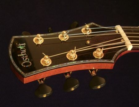 Abalone Purfling Headstock